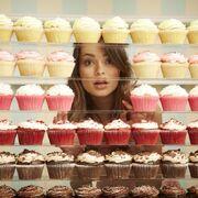 Between cupcakes