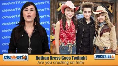 Nathan Kress Goes 'Twlight Saga' On 'iCarly'!