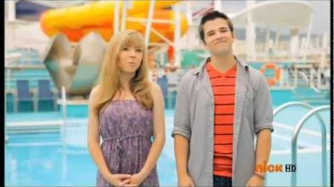 Jennette McCurdy and Nathan Kress iCruise 3