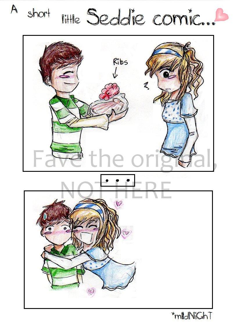 Image - A short little Seddie Comic by theseddieclub.jpg