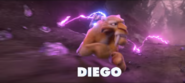 Diego Running from Lightning