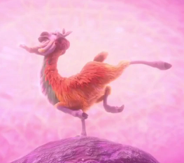 Ice Age Collision Course Shangri Llama full body