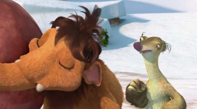 File:Ice Age A Mammoth Christmas Peaches Hugging Christmas Rock.png