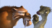 Sid provokes Diego
