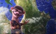 Neil deBuck Weasel with Earth