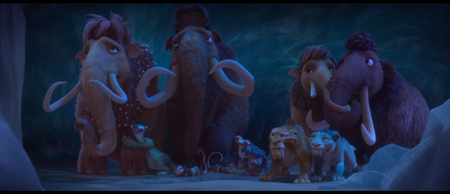 File:Ice Age Collision Course Herd hiding in Cave.png