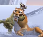 Sid hugs Diego