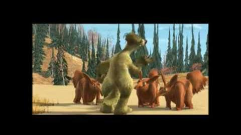 Ice Age Deleted Scene Paying Toll with Aardvarks
