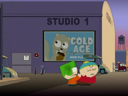 South Park Scrat spoof