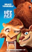 "Ice Age Collision Course poster ""brace yourself"""