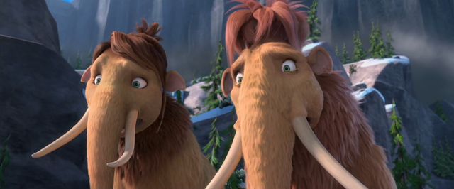 File:Ice Age Continental Drift Ellie and Peaches Shocked.png