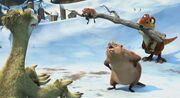 Mom beaver and sid