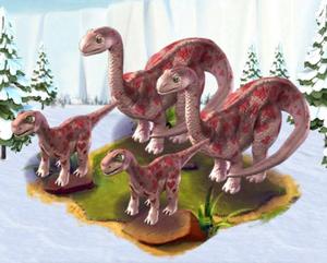 Complete loveosaurus
