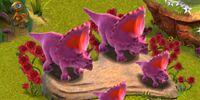 True-Love Triceratops