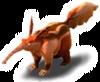 Brown aardvark