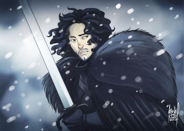 File:Jon snow by KarlaDiazC.jpeg