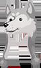 Hat wolf