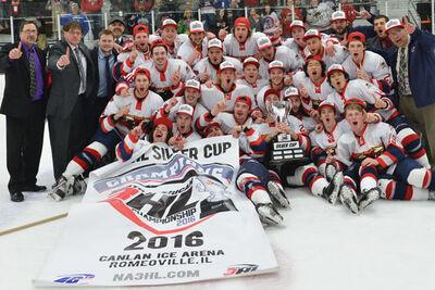 2016 NA3HL champs North Iowa