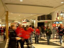 RBC Center Concourse