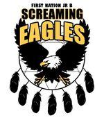 New Screaming Eagles Logo