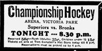 1932-33 Alberta Senior Playoffs