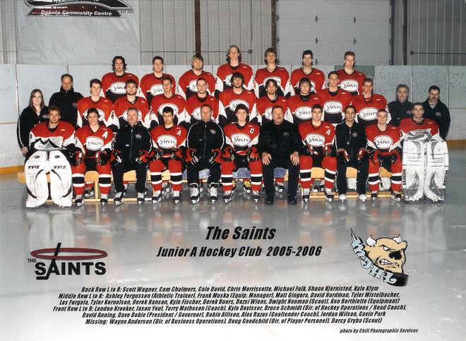 Winnipeg Saints 2005-06