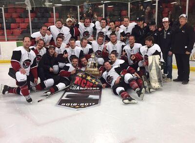 2017 NCHL (MB) champs Miniota-Elkhorn C-Hawks