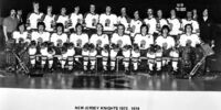 1973–74 New York Golden Blades/New Jersey Knights season