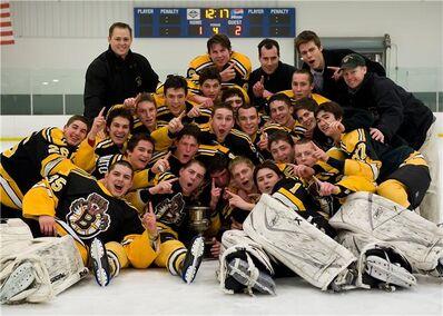 2009 playoffchamps Empire JHL Boston Jr Bruins