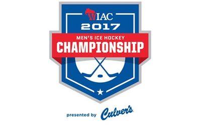 2017 WIAC Men's Hockey tournament logo