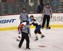 Shea Weber fight