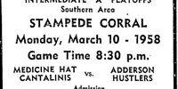 1957-58 Alberta Intermediate Playoffs