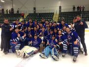 2016 Don Johnson Memorial Cup champions Valley Maple Leafs