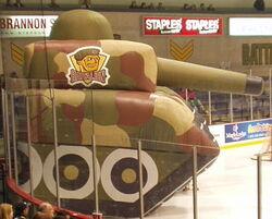 Brampton battalion tank