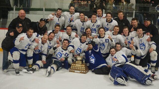 File:2015 Carillon Senior Hockey League Champions Steinbach Huskies.jpg