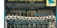 1994–95 San Jose Sharks season