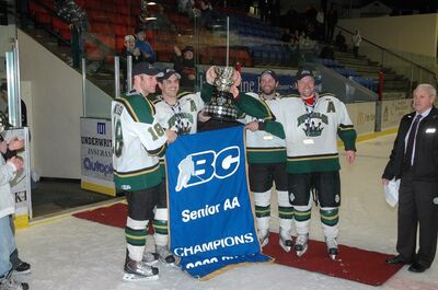 Powell River 2010 Coy Cup Champions