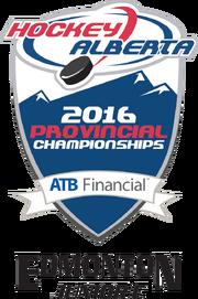 2016 Alberta Jr C championship logo