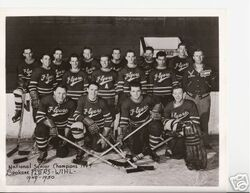 1949-50 Spokane Flyers