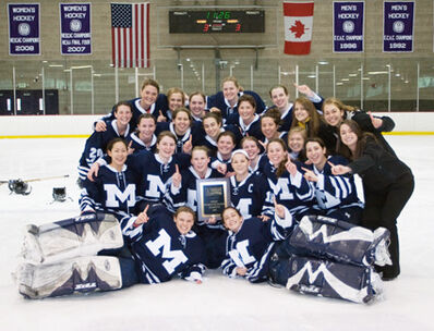 Middlebury 2009 WIH Champs