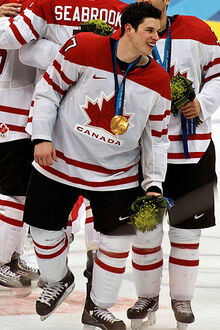 Crosby Olympic Gold