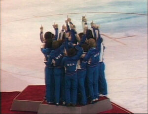 Miracle on Ice - podium