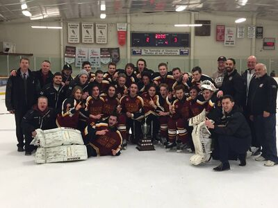 2016 NDJCHL champs Grimsby Peach Kings