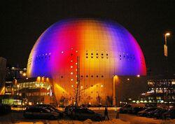 Globen Stockholm February 2007
