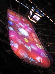 Philips Arena just before the 2008 NHL Skills Competition - January 26, 08