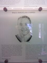 Paul Coffey plaque