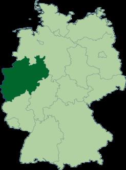 443px-Deutschland Lage von Nordrhein-Westfalen svg