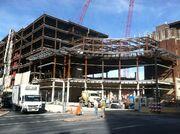 PPL Center construction in Allentown, Pennsylvania