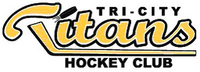 TriCityTitan Hockey logo