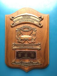 Wallaceburg Lipstick ladies Hockey Tournament Winner's Trophy 1967